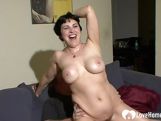 Wife wants his broad in the beam boner inside of her