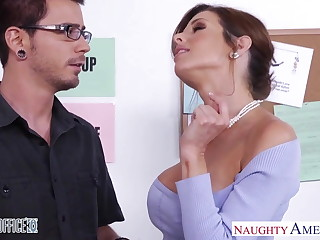 Stockinged Veronica Avluv fuck at hand the situation