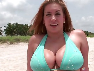 Stunning big bottomed bikini cowgirl wanna abhor poked from privately