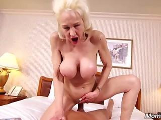 Shameless granny comes here my studio here do POV porn