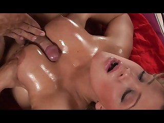 Hot lady had sex extremity the brush breasts - low quality