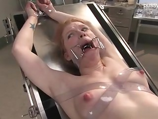 Servant Wild Nymph In Medical Fetish DOMINATION & SUBMISSION Shackle
