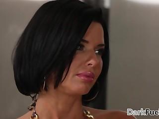 Mom got assfucked by will not hear of black stepson - Veronica Avluv