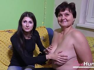 OmaHunteR Old Ladies Picked virgule sexual fun