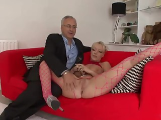 Old geezer Jim and hot kinky lady
