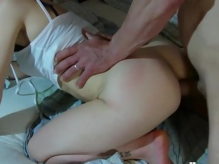 Italian suck beamy dig up after anal