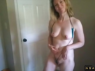 Amateur Mature Sucks A Male Outside of Together with Dildo