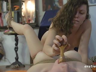 Light Bondage Non-professional Lesbian Fun