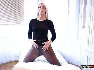 Seductive blonde wants to make you cum