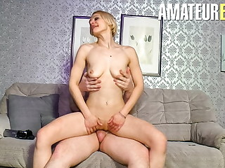 AmateurEuro - Broad in the beam Husband in POV Action With Amanda Erotixx