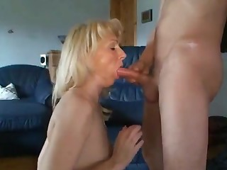 Hot milf anal fucked creampied together with cum in mouth
