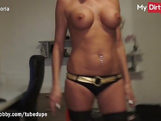MyDirtyHobby - Gorgeous blonde MILF fucked by foreigner