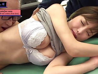 Raunchy japanese housewife gender venerable doctor during checkup