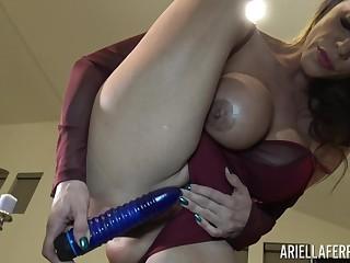 Ariella Ferrera homemade masturbation pellicle